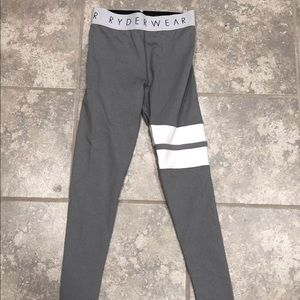 RYDERWEAR LEGGINGS GREY XS